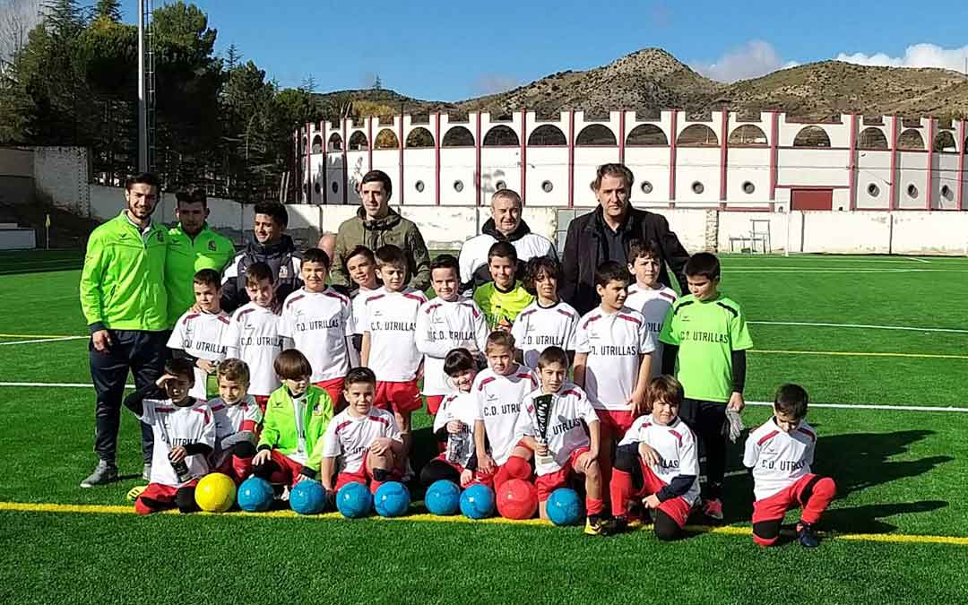 Complejo deportivo La Vega de la localidad de Utrillas./ Ayto. de Utrillas