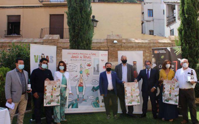El Concurso de Tapas Jamón de Teruel rinde homenaje a los sanitarios