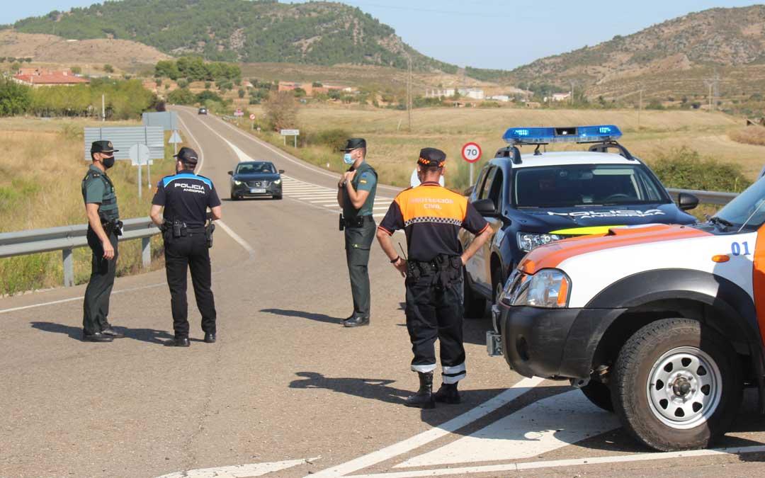 Control policial en Andorra el primer día de confinamiento perimetral en septiembre/ L. Castel