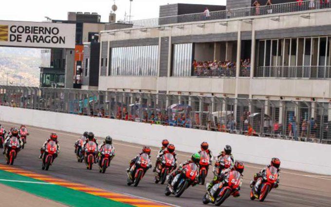 Motorland Aragón acoge el fin de semana la doble cita del FIM CEV Repsol