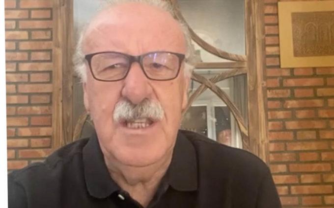 """Vicente del Bosque anima a los calandinos a """"ganar el mundial"""" de la cosecha del Melocotón"""