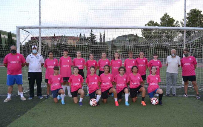 El fútbol femenino se hace un hueco en el Alcañiz Club de Fútbol