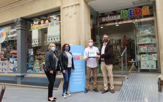 Comercios de Alcañiz, Calamocha y Teruel reciben su Estrella Mudéjar