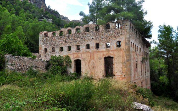 La Fábrica Bonica de Valderrobres, en la 'Lista Roja' de patrimonio amenazado