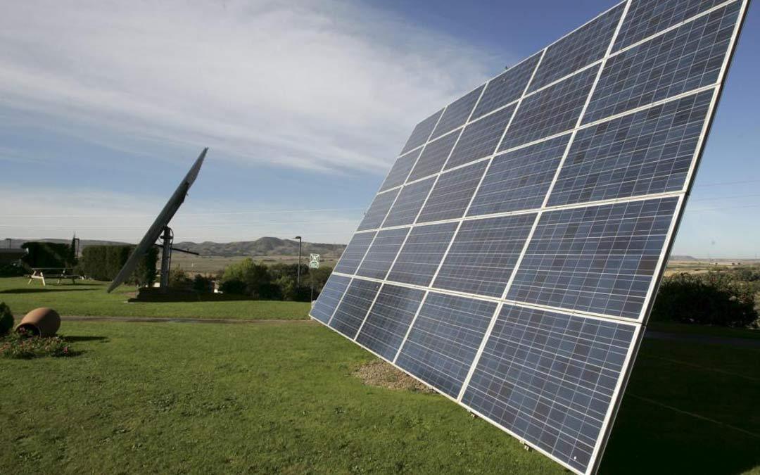 Parque fotovoltaico./Rafael Gobantes HERALDO