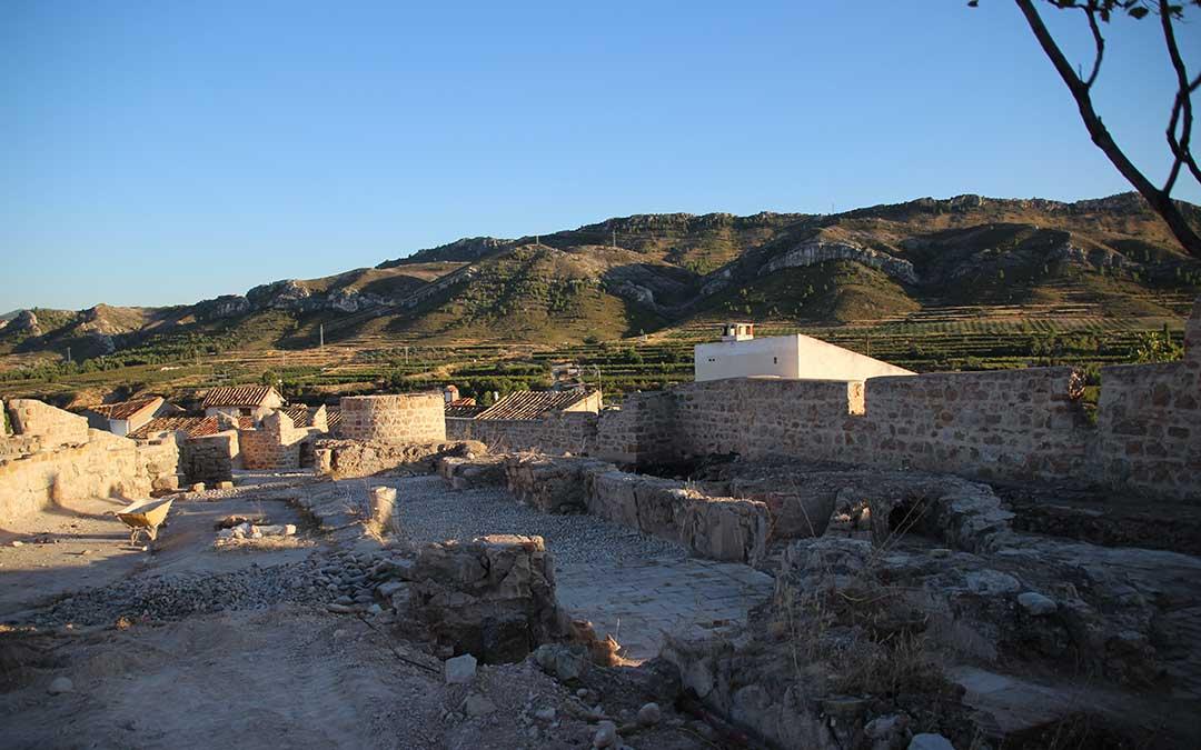 Interior Castillo de Calanda
