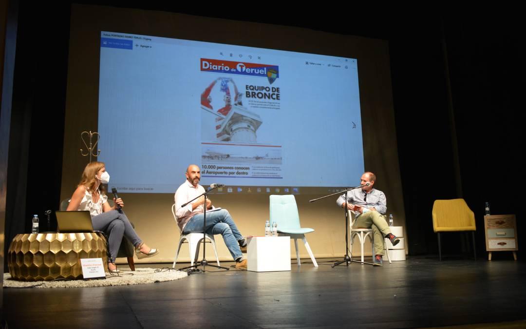 De izq. a dcha; Eva Defior, José Luis Rubio y José Miguel Tafalla./ L.C.