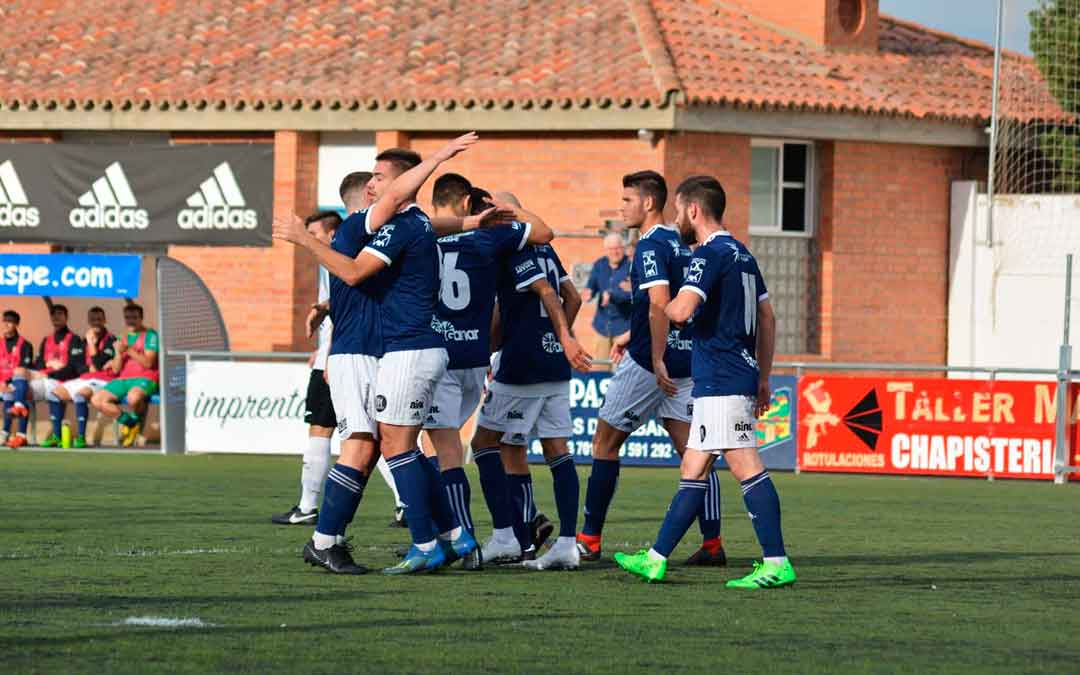 Imagen de archivo del Club Deportivo Caspe./ L.C.