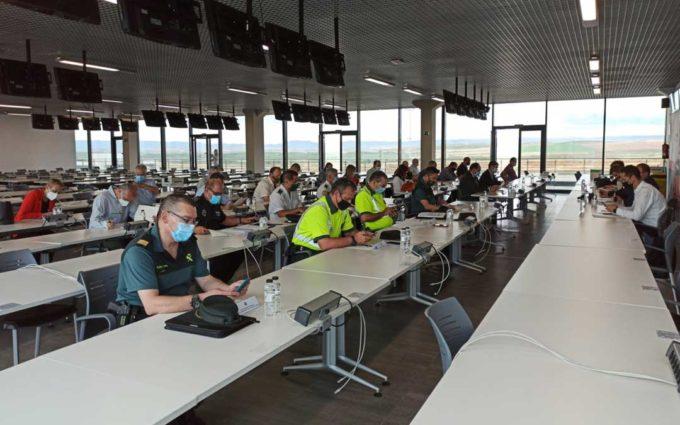 El operativo de MotoGP trasladará a alrededor de 2.000 personas a Alcañiz