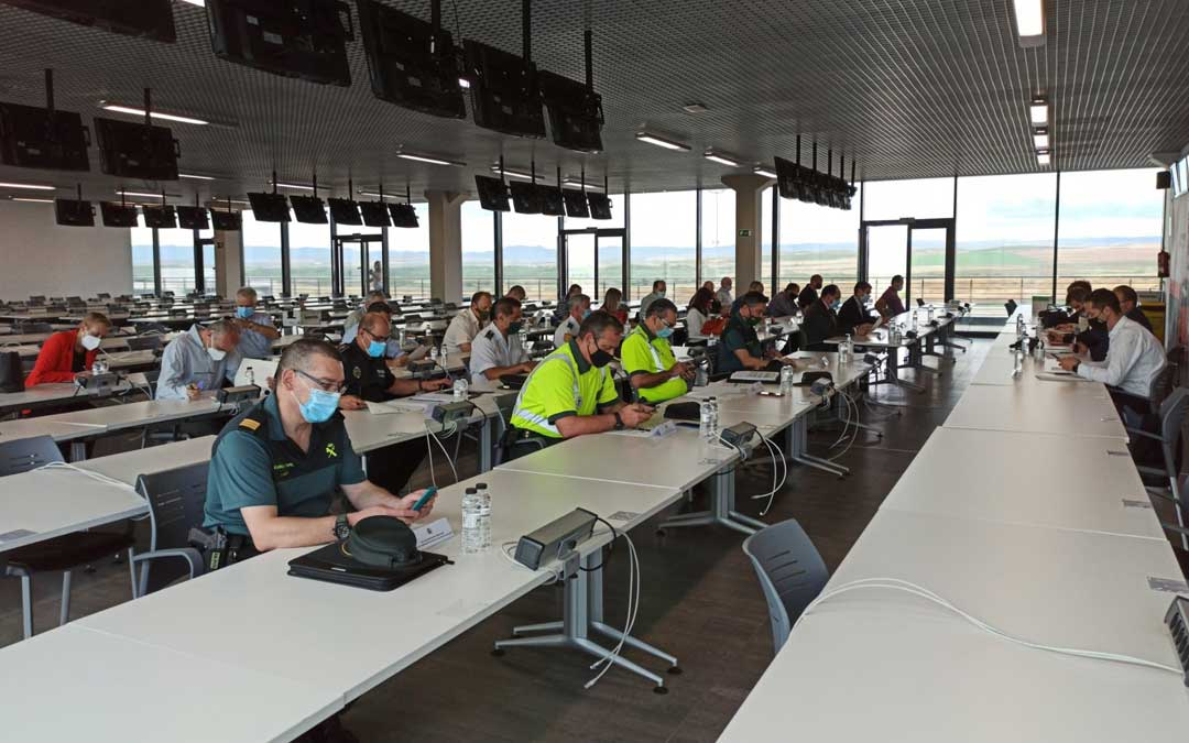 Junta de Seguridad celebrada este jueves en Motorland / Delegación del Gobierno