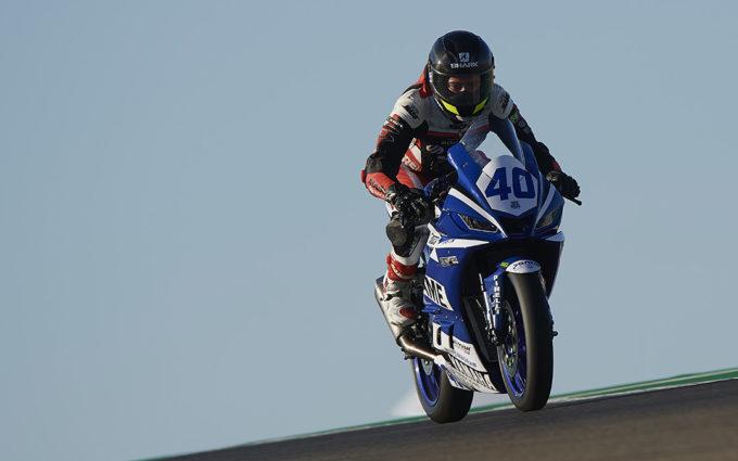 Marcos Lahoz, satisfecho e ilusionado con su paso por el Mundial de Superbikes