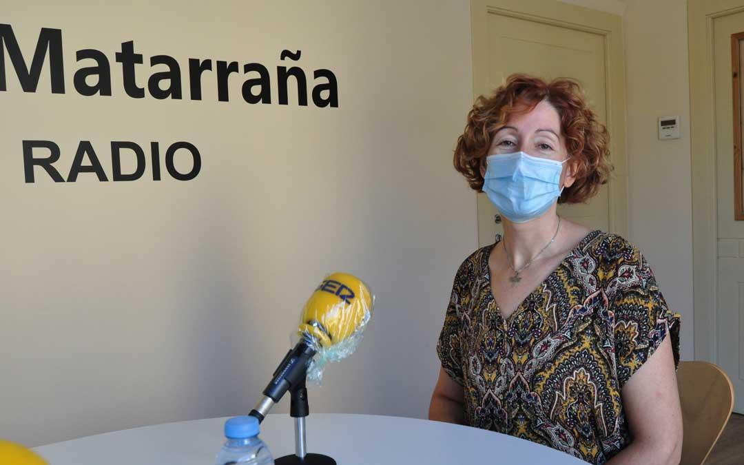 Marta Ferrás, presidenta de los Empresarios del Matarraña.