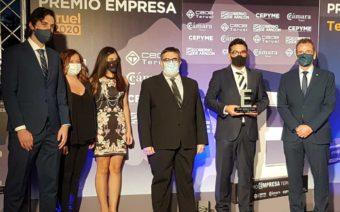 Memorándum Multimedia, Pastelería Belenguer y el Hotel Ciudad de Alcañiz; reconocidas en los premios Empresa Teruel