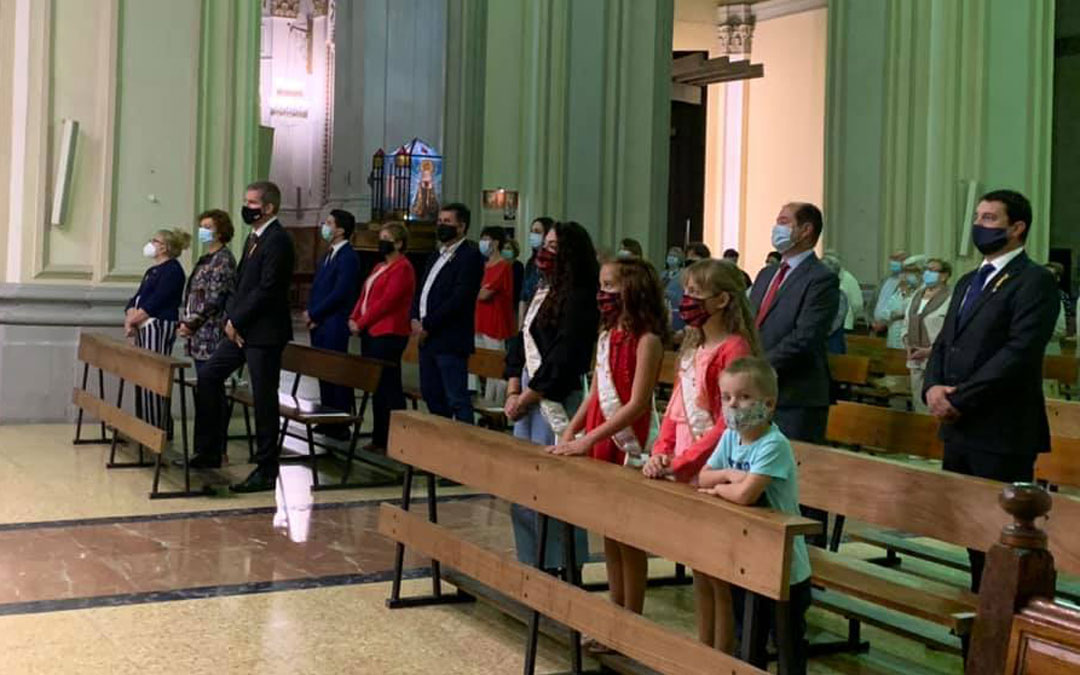 La misa se ha cambiado a la Iglesia Mayor para contar con más aforo / Ayto. Alcañiz