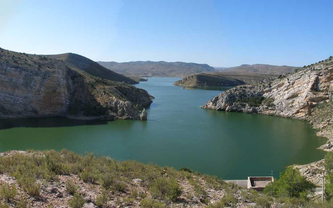 Imagen de archivo del pantano de Cueva Foradada. / La Comarca