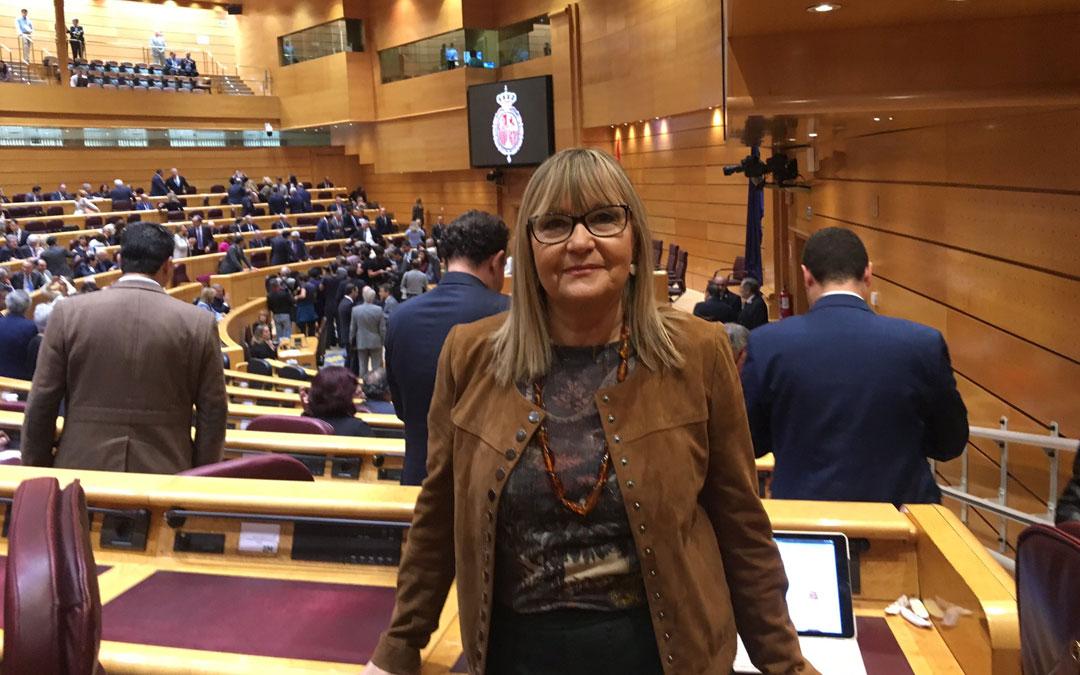 Perla Borao fue senadora por Teruel en la anterior legislatura