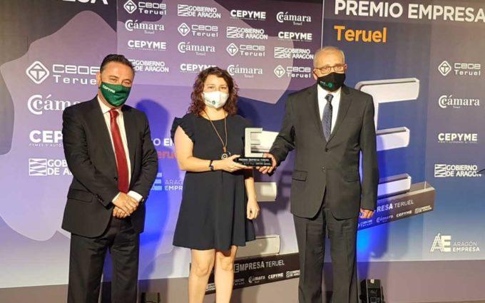 Entrega de los Premios Empresa Teruel y Enredadas