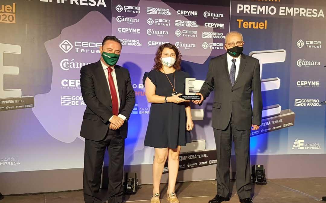 Se ha entregado un galardón nuevo a la Responsabilidad Corporativa frente al covid 19 para el Hotel Ciudad de Alcañiz, el único hotel hospitalizado en Aragón