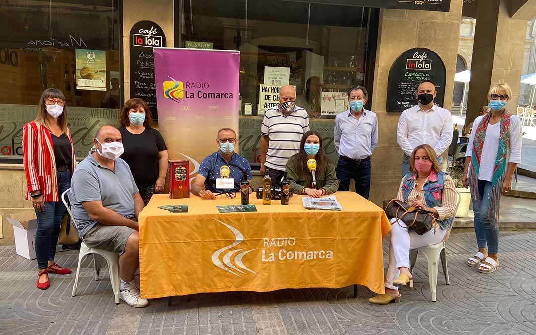 Programa especial de Radio La Comarca emitido desde Alcañiz este 8 de septiembre./ L.C.