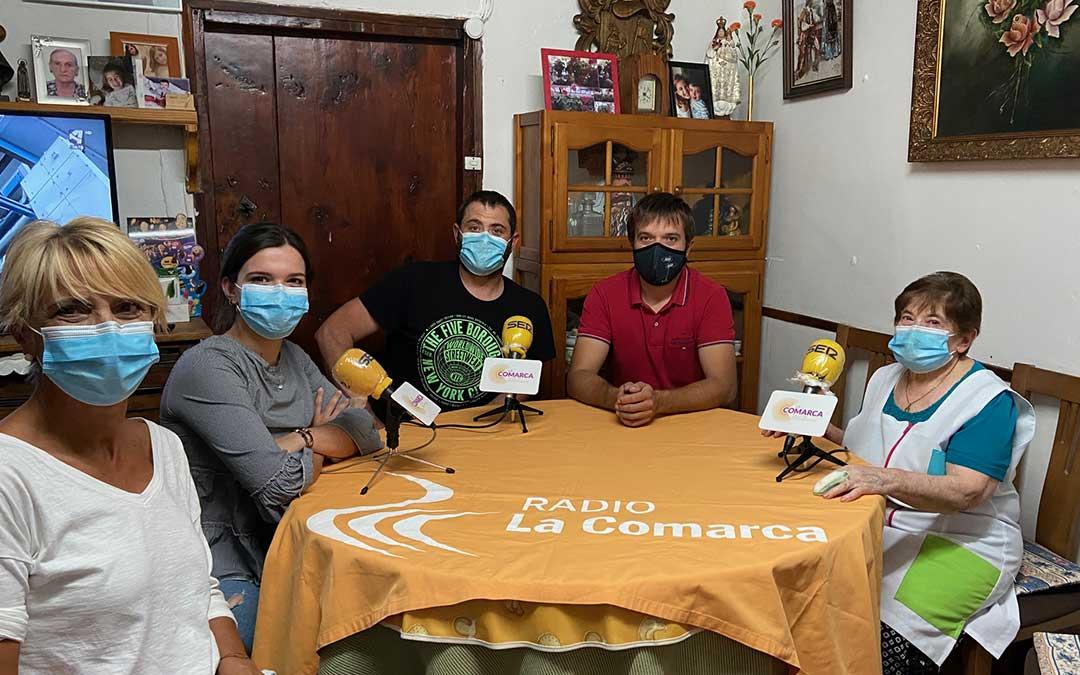 Programa especial Radio La Comarca emitido desde Tronchón./ L.C.