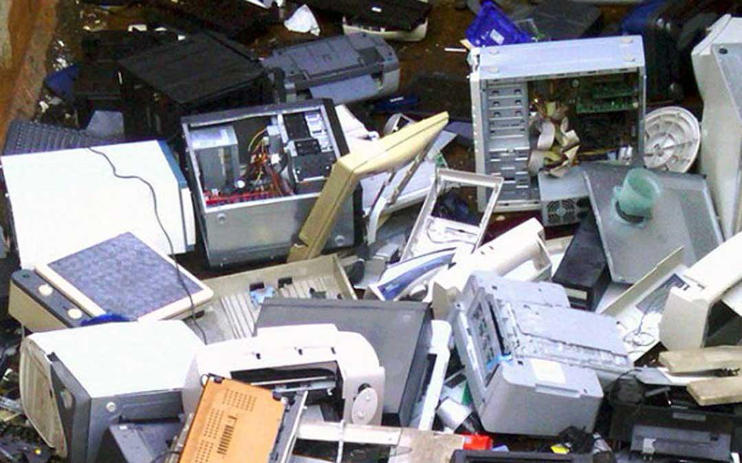 Residuos electrónicos y eléctricos