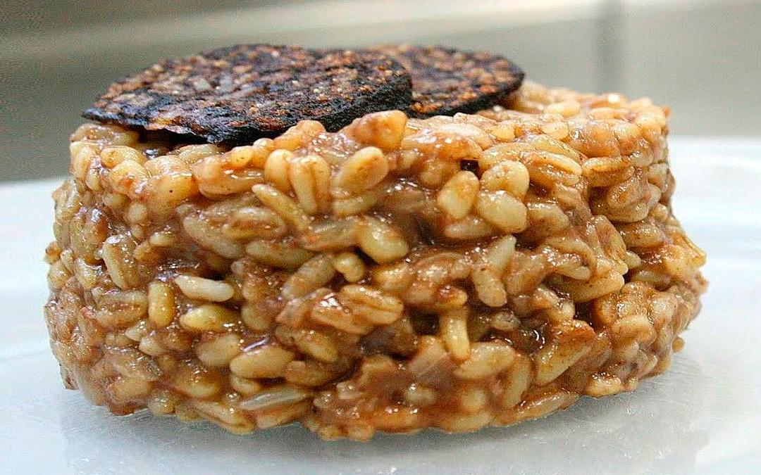risoto-de-arroz-con-morcilla