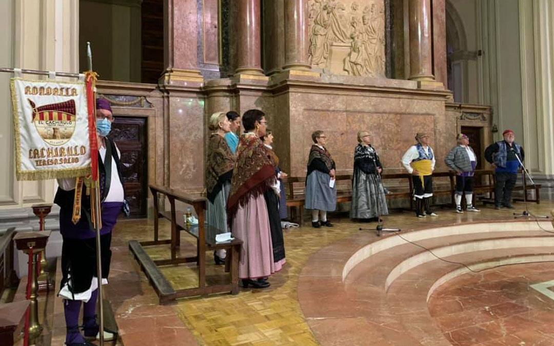 Misa baturra con el Cachirulo de Alcañiz por la virgen de Pueyos / Ayto. Alcañiz
