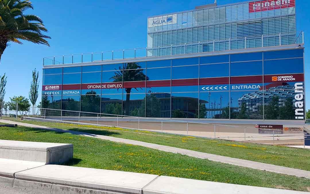 Sede de la Dirección Provincial del INAEM en Zaragoza.