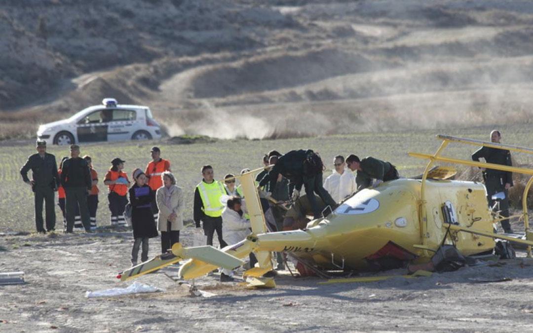 El accidente tuvo lugar el 19 de marzo de 2011