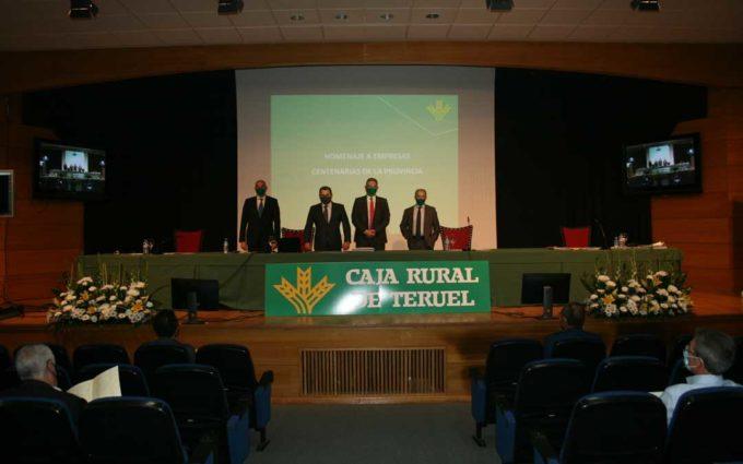 Caja Rural de Teruel obtiene 3,2 millones de beneficio en 2019