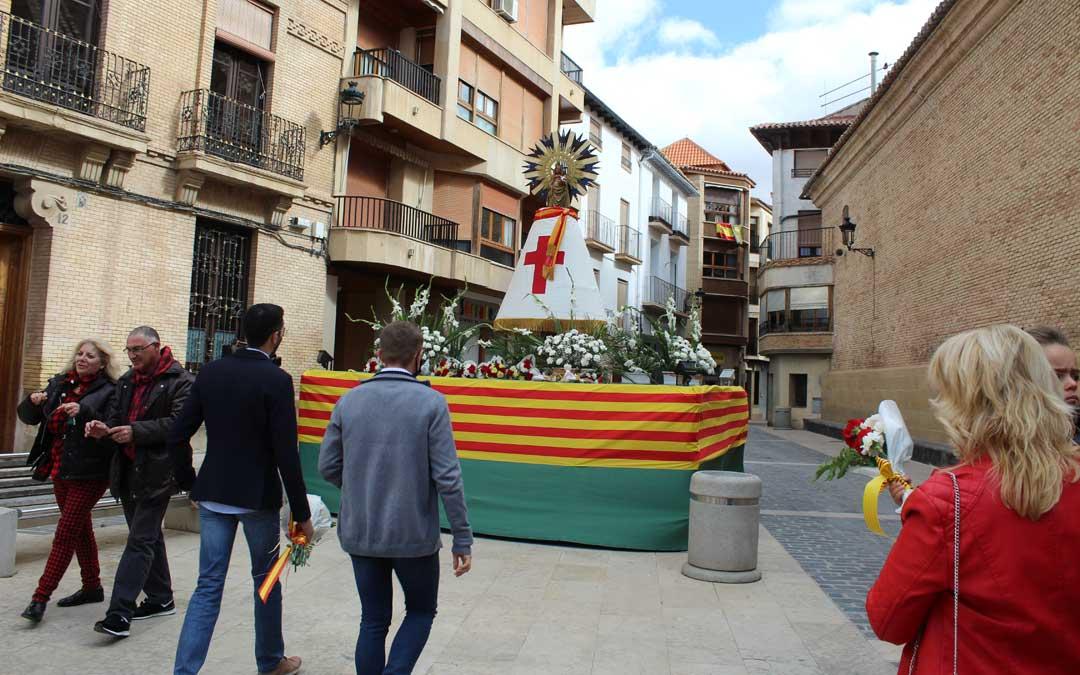 """""""No fiestas"""" del Pilar de Calanda. / B. Severino"""