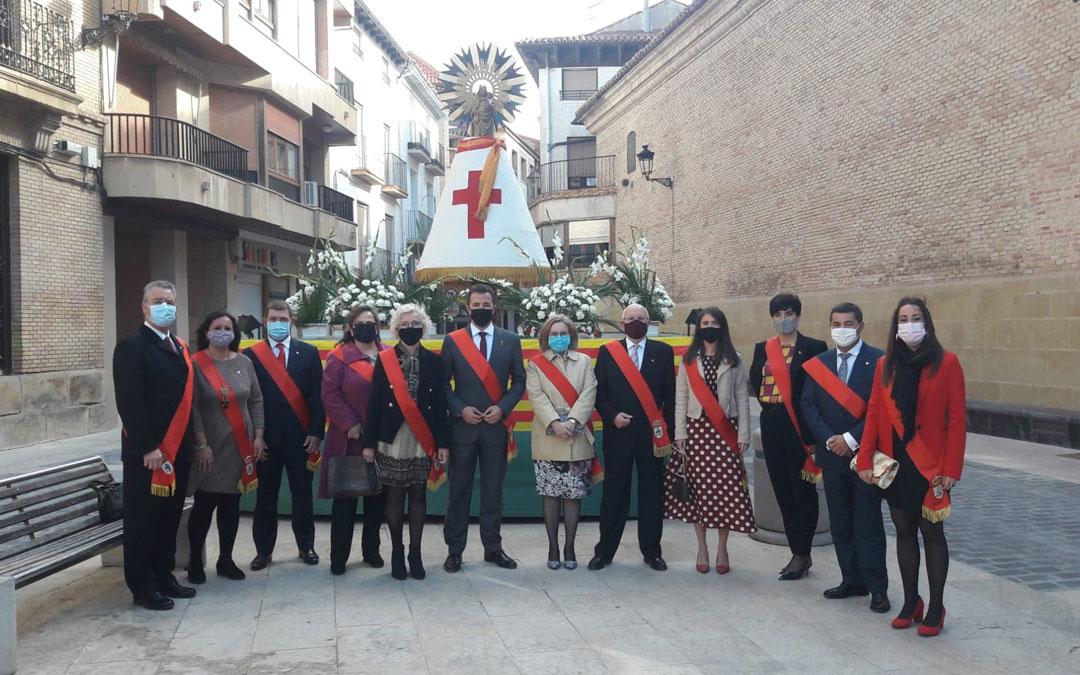"""""""No fiestas"""" del Pilar de Calanda. / Ayuntamiento de Calanda"""
