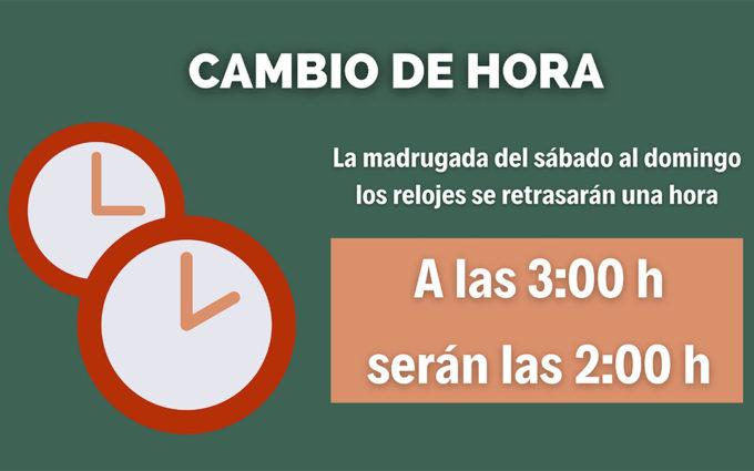 Cambio de hora: a las 3 serán las 2 en la madrugada del sábado al domingo