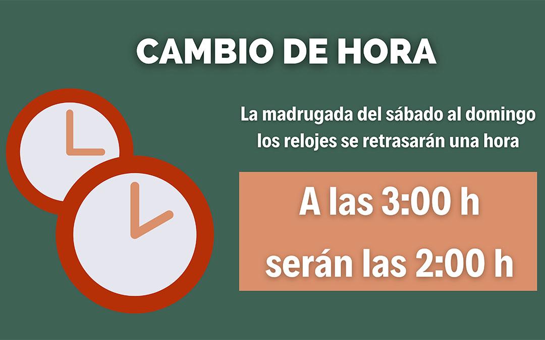 El cambio de hora llegará este domingo 25 de octubre de 2020 y a las tres de la madrugada serán las dos./ Gobierno de España