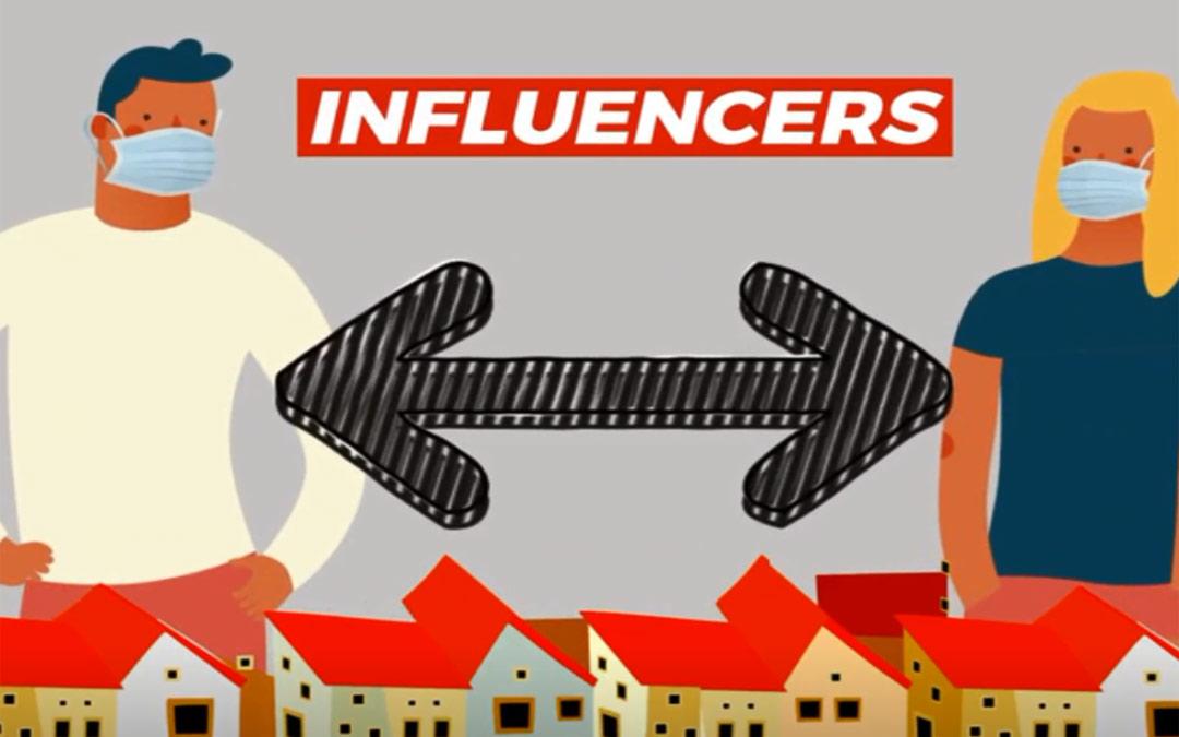 Campaña '#JuventudInfluencer' creada por el Instituto Aragonés de la Juventud./LA COMARCA