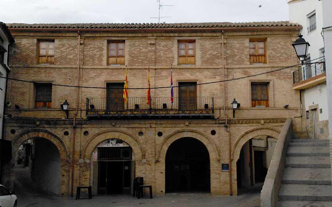 Casa consistoria de la localidad de Urrea de Gaén