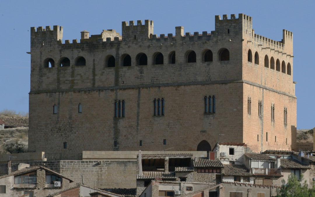 Castillo de Valderrobres que está siendo objeto de reformas