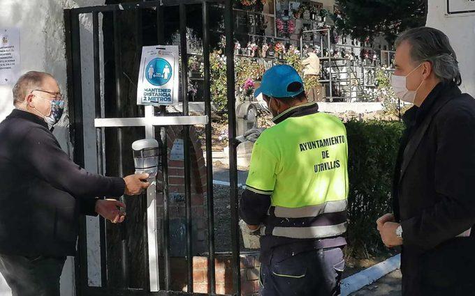 Los Ayuntamientos ultiman las medidas de seguridad e higiene en los cementerios
