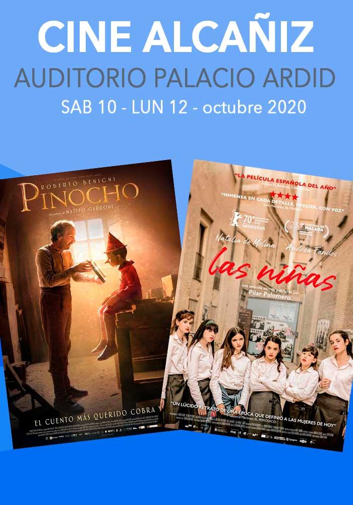 Cine Alcañiz del 10 al 12 de octubre