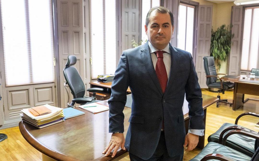 David Gutiérrez, director general de Caja Rural de Teruel./ Heraldo- Antonio García- Bykofoto