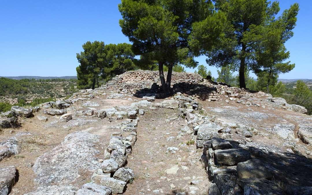 El poblado de Els Castellans será objeto de actuación. Foto: Juan Luis Camps.