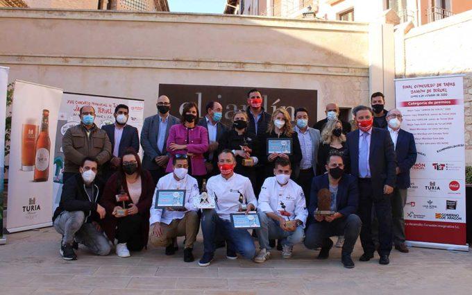 Los premios de 'Tapas Jamón de Teruel' pasan por Alcañiz, Utrillas y Beceite