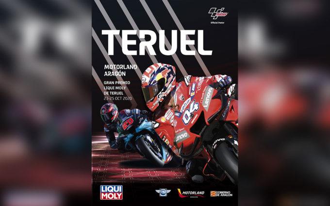 El cartel del Gran Premio de Teruel sitúa a la provincia en el mapa mundial