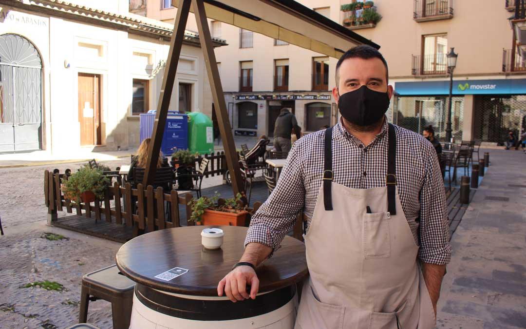 Juanma Crespo del hotel-restaurante Guadalope