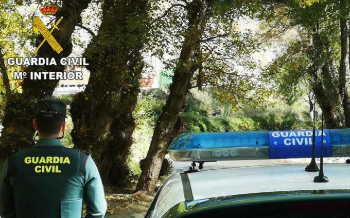 La Guardia Civil de Teruel investiga en Montalbán a una persona por presunta simulación de delito