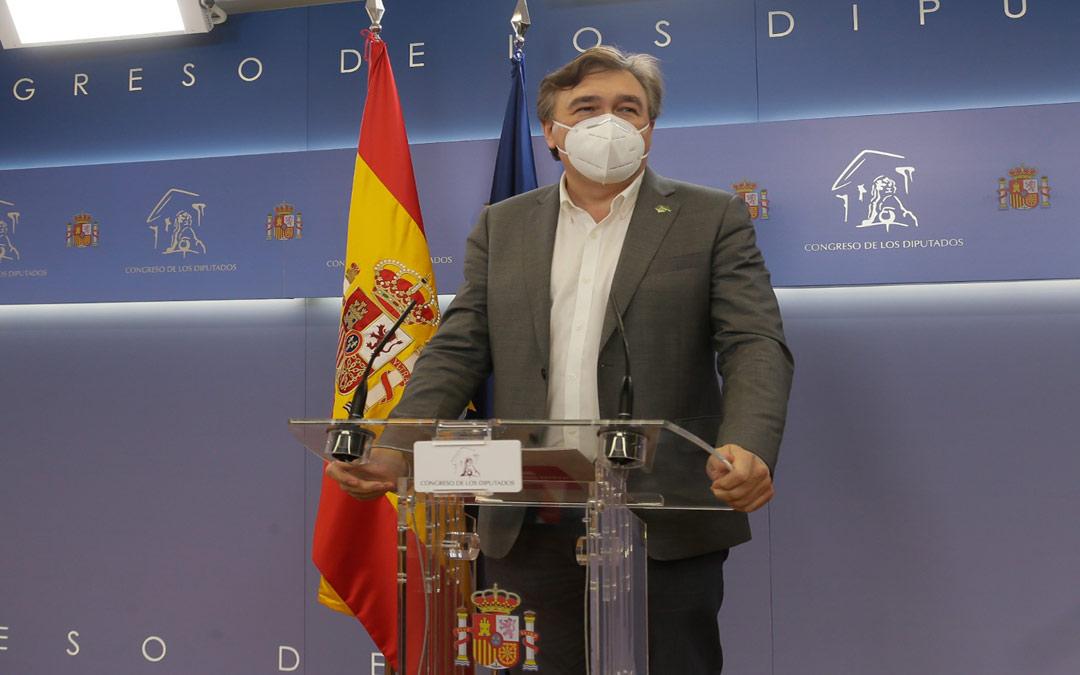 Tomás Guitarte, diputado de Teruel Existe en el Congreso./LA COMARCA