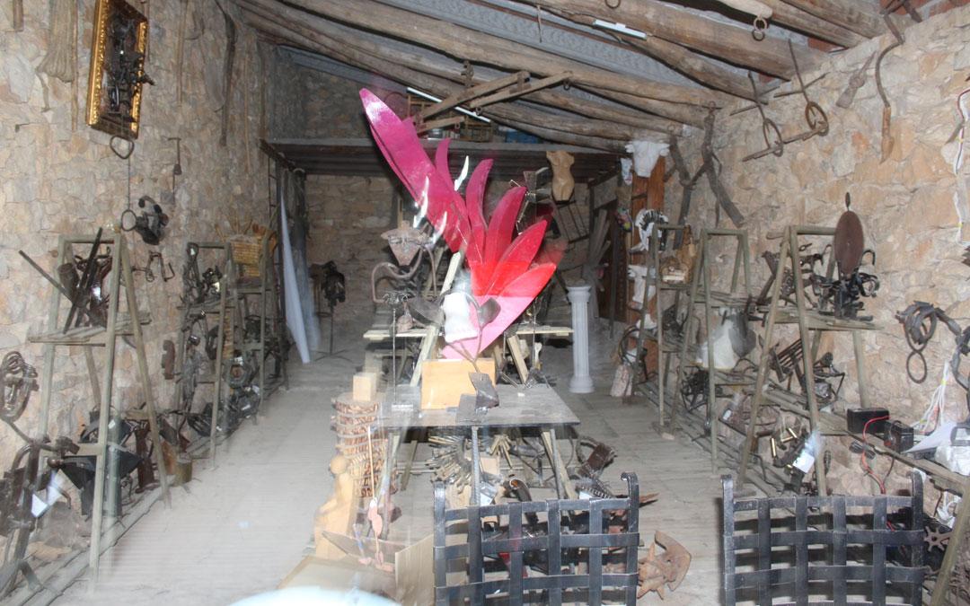 El Pajar de Blancas, parte interior. / Archivo personal Jesús Guallar