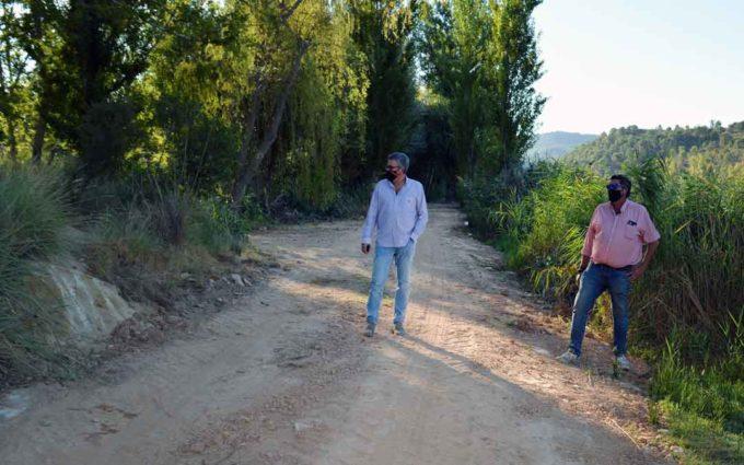 Terminadas las obras para evitar las inundaciones del Coto de Pesca de La Badina de Alcañiz