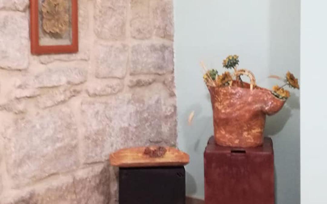 Detalle de una de las exposiciones. / Archivo personal