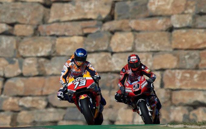 Nakagami, Lowes y Masiá han marcado el ritmo de los libres del Gran Premio de Teruel